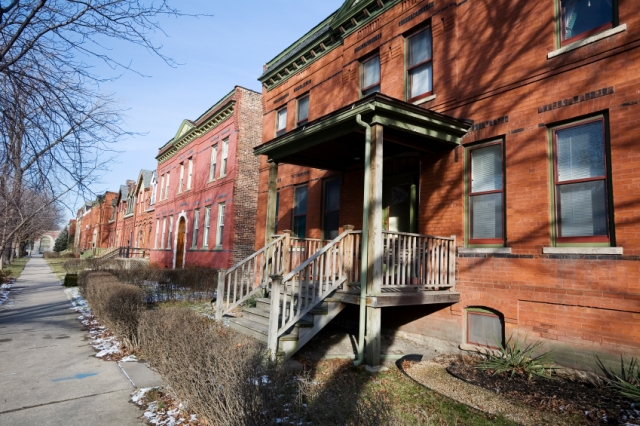 Pullman Houses in Chicago
