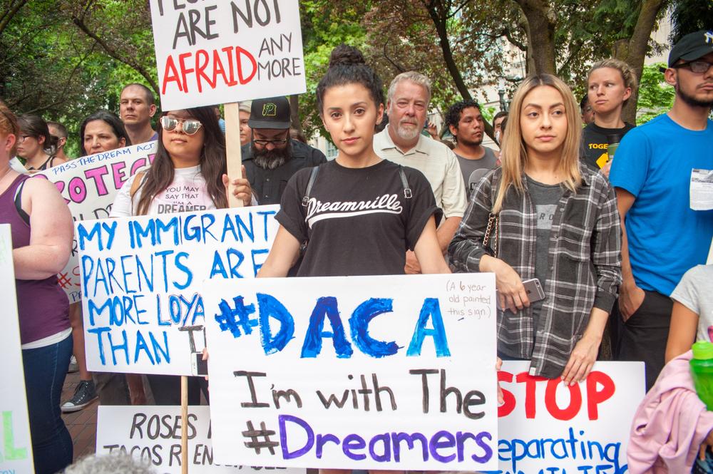 Dreamer protest